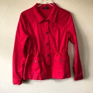 41 Hawthorn | Red Anorak Jacket